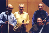 The Quartetto Beethoven in 2000